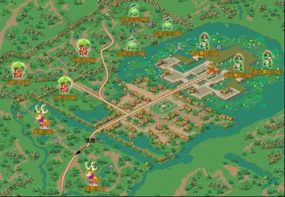 姑苏区手绘地图